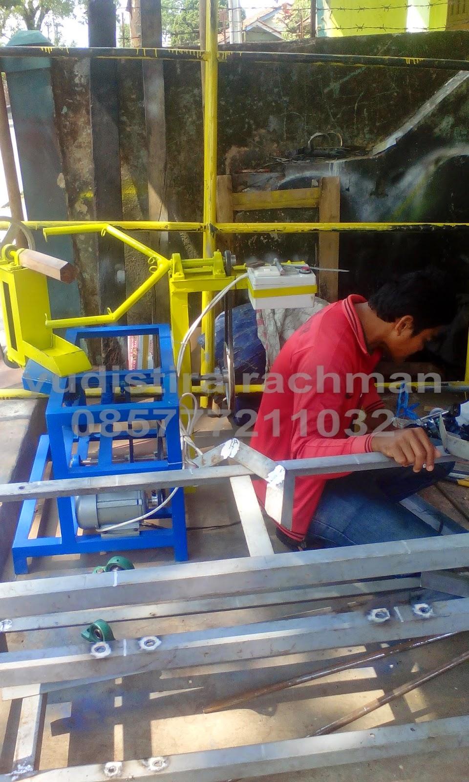mesin gulung rafia Lampung