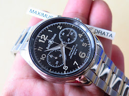 BELL & ROSS BLACK MILITARY DIAL CHRONOGRAPH - AUTOMATIC