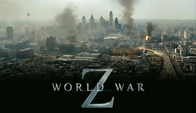 City destroyed poster in World War Z