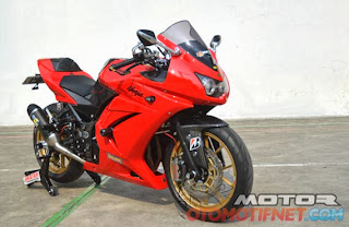 Modifikasi Ninja 250 cc Full Variasi