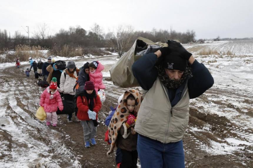 Συνάνθρωποι μας από την Συρία ανεβαίνουν το Γολγοθά τους