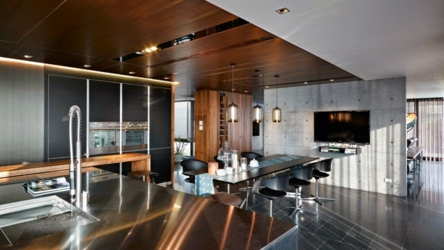 20 ultra modern kitchen designs and ideas for inspiration for Tv in the kitchen ideas