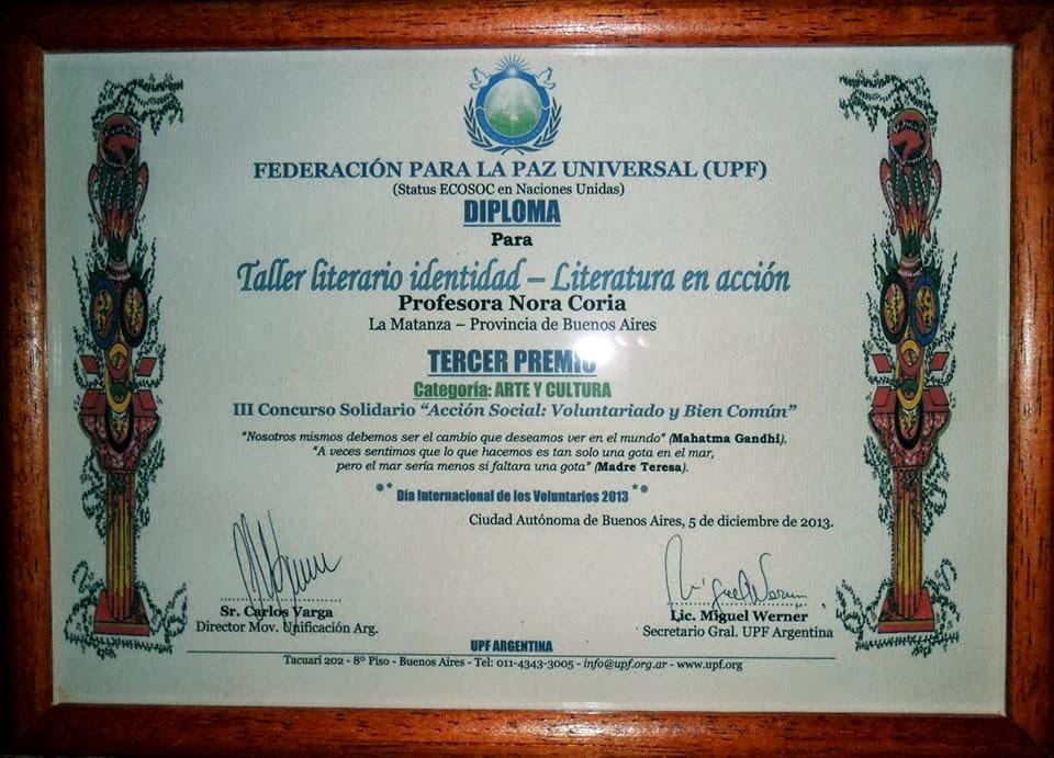 """Premio UPF """"Acción social, voluntariado y bien común"""""""