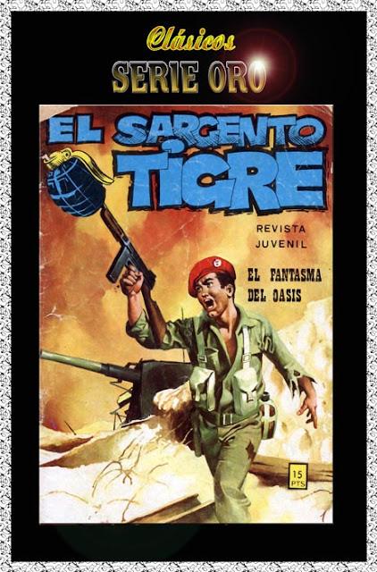 Portada El Sargento Tigre Ediciones Vilmar Nº 39