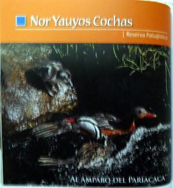 """Reserva Paisajística """"Nor Yauyos Cochas"""""""