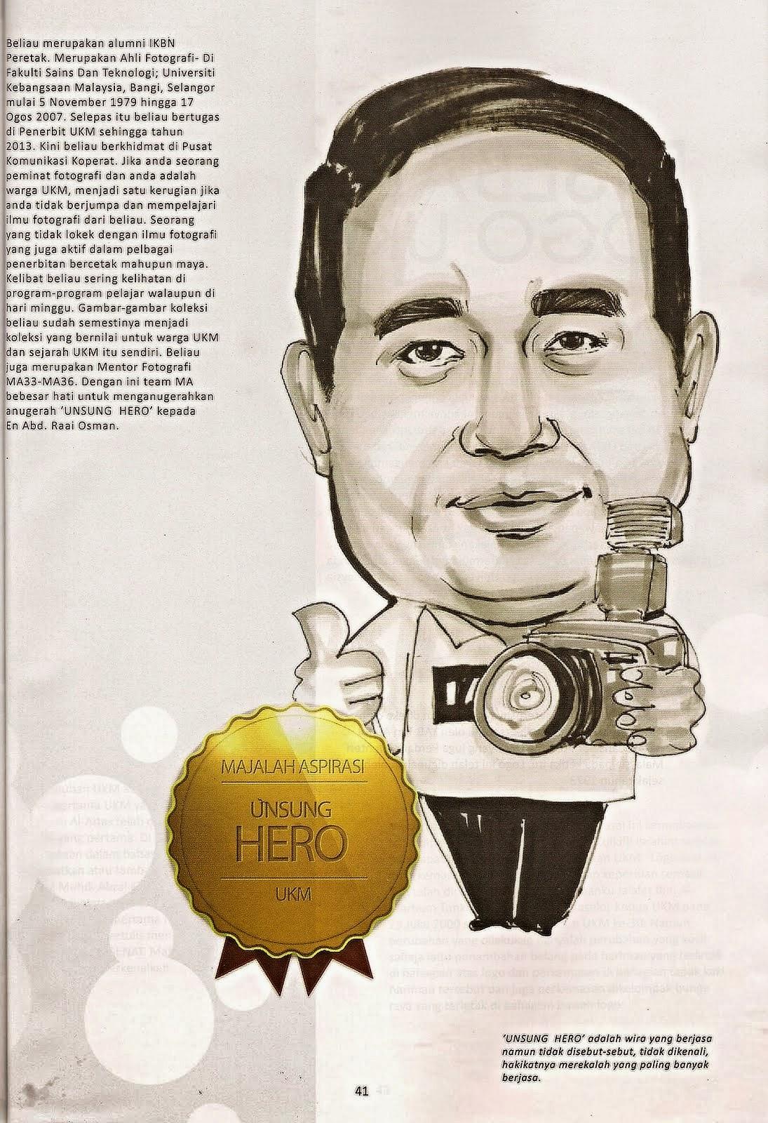 Anugerah Unsung Hero 2013