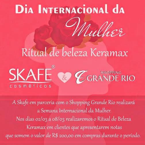 Shopping Grande Rio promove ação para comemorar o Dia da Mulher