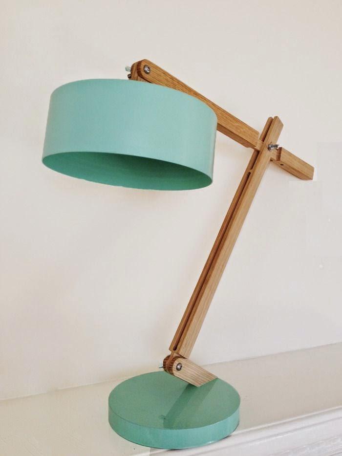 lampara de mesa tonos mint