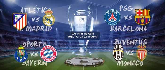 Orgullo Benfiquista: Sorteo de cuartos de final UEFA Champions League