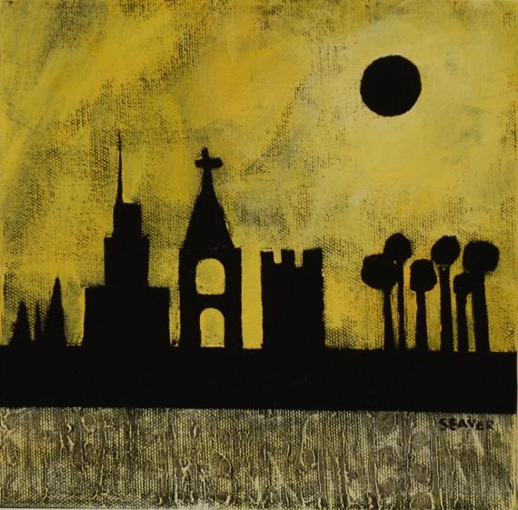 Elizabeth W Seaver Fine Art Trio And Back Tracking