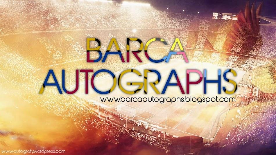 Barca Autographs