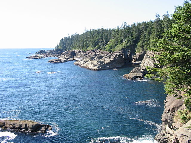 Offshore Vancouver Island Washington Oregon Quizlet