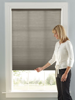 blinds 4 less magic of stylish top down bottom up cordless cellular shades. Black Bedroom Furniture Sets. Home Design Ideas
