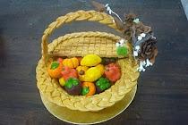 Pastry Basket & Tart Buah Rm150