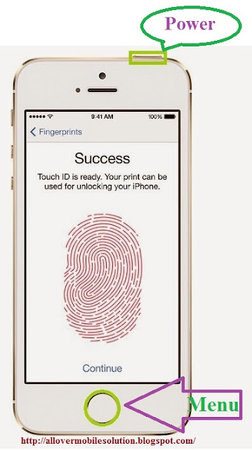 How do you do a hard reset on iphone 5s