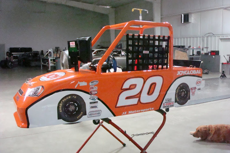 Joy Children's Hospital Dirt Track Racing Car Simulator Car