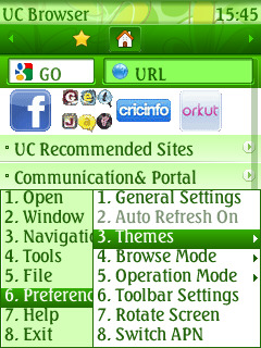 Ilustrasi Aplikasi Browser Browsing Java Tercepat