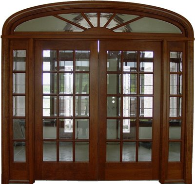New home designs latest wooden main entrance homes doors for Wood doors with windows