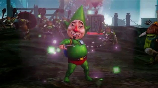 Tingle on Hyrule warriors
