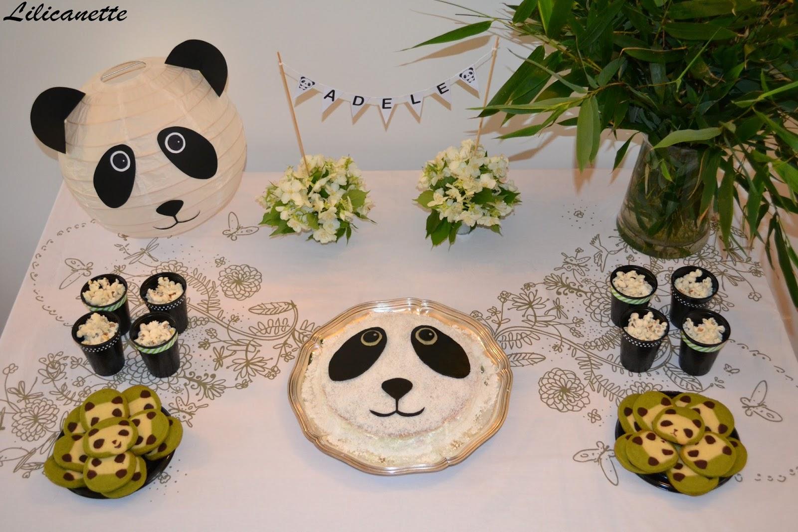 Souvent Lilicanette: Anniversaire et sweet table Panda WC72