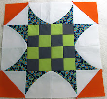 Curve It Up - Block #2 Sawtooth Star