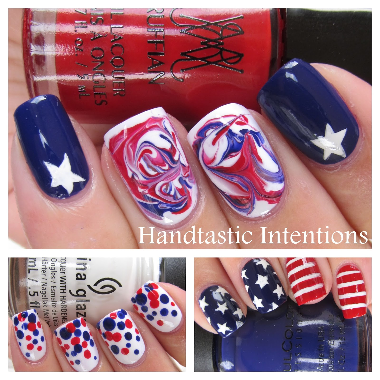 Patriotic-Nail-Collage