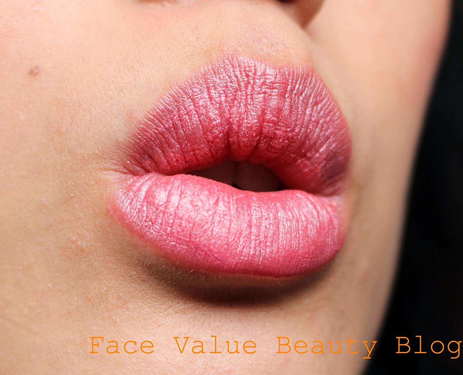 glo minerals pink sugar lipstick review