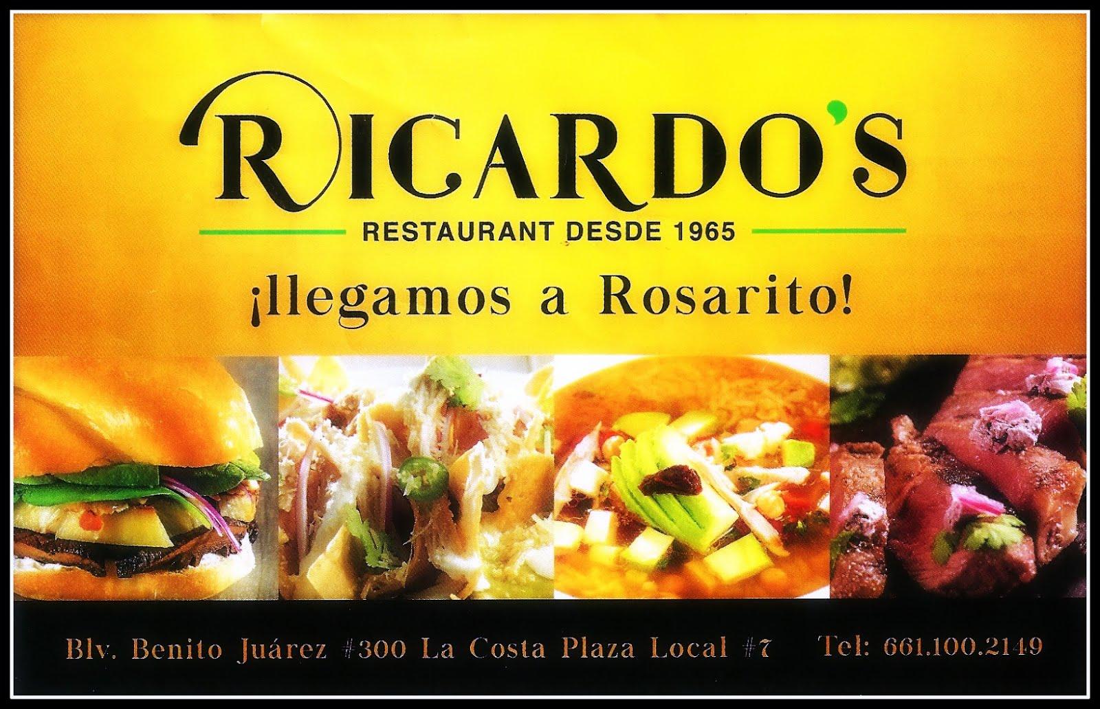Ricardo's     Tel#(661)100-2149