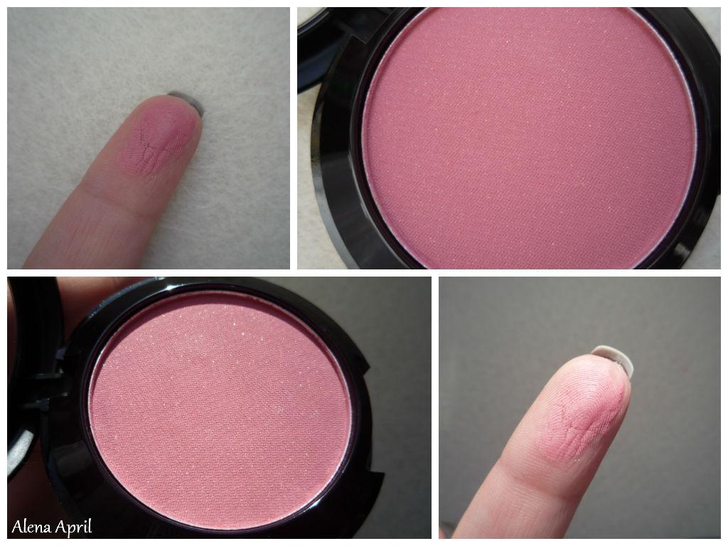 Soft Lights blush powder от Lamel Professional, румяна от Lamel Professional, оттенок 02, свотчи румян
