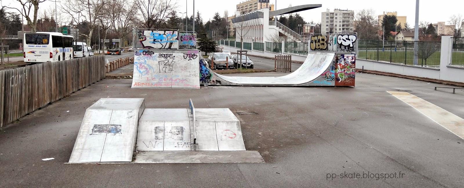 Skatepark Bron Lyon