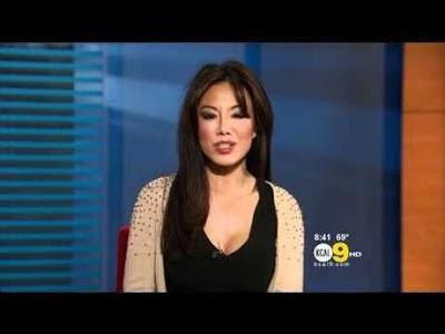Sexy News Presenter