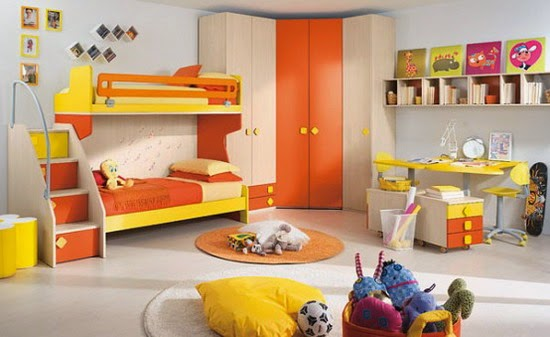 Colorful Bedrooms modern and stylish ideas for kids bedrooms | colorful bedrooms for