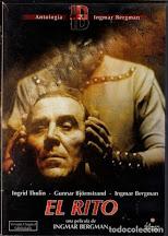EL RITO (Ingmar Bergman, 1969): Sobre la personalidad de Bergman