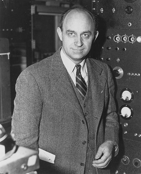 مخترع المفاعل النووي إنريكو فيرمي