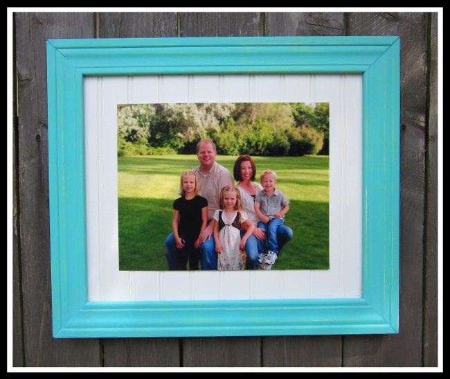 DIY Large Frame : Crafting in the Rain
