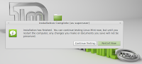 LinuxMint installation complete