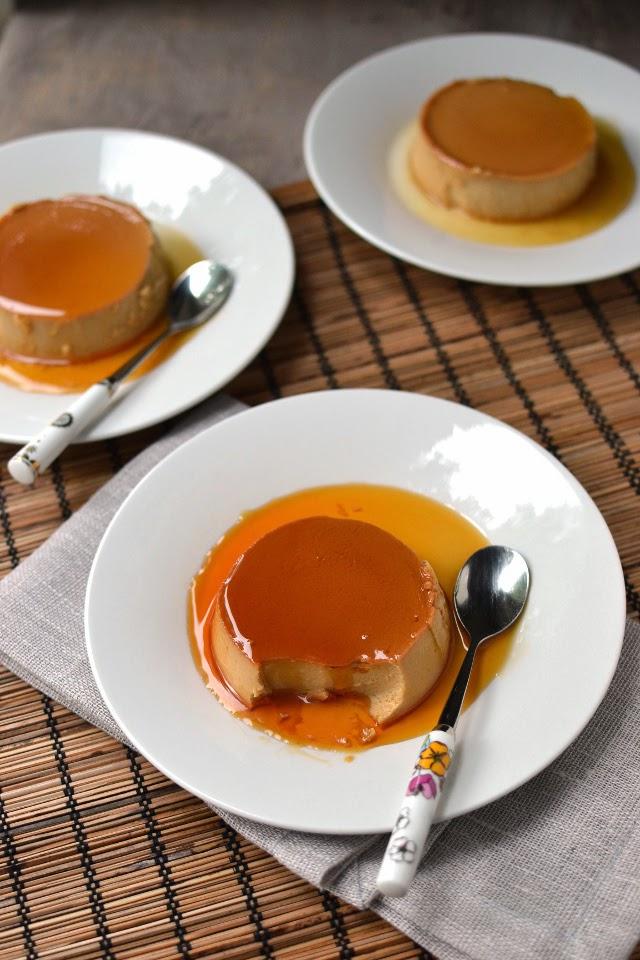 Creme Caramel with Dulche de Leche