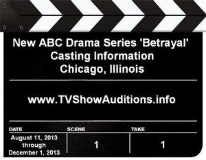 ABC Betrayal Auditions Casting Information