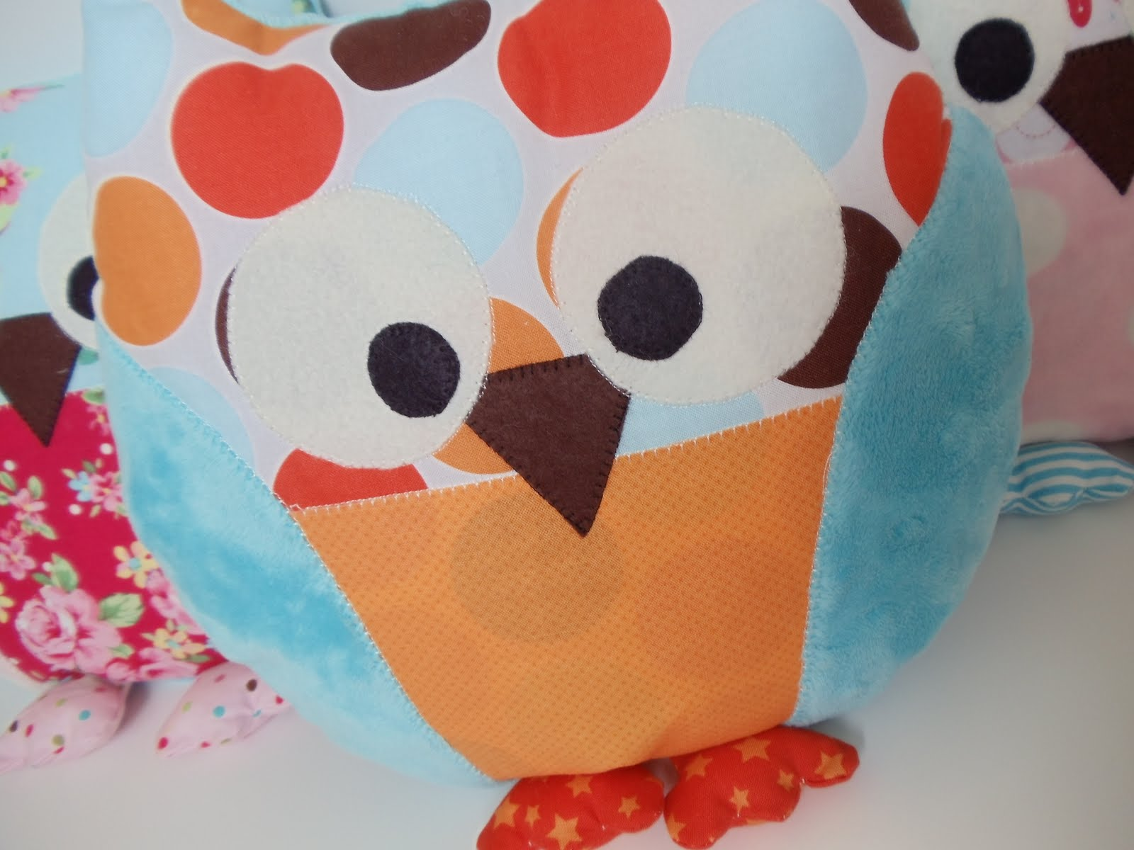 My cotton creations sewing for children owl pillow pattern and saturday february 19 2011 jeuxipadfo Image collections