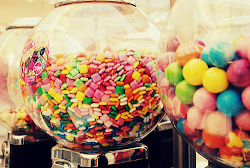 Candies, my favourite sweet.