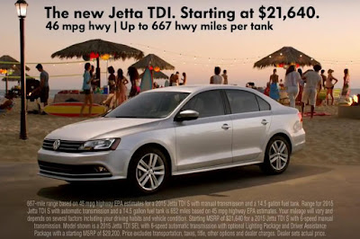 Volkswagen Jetta TDI (2015 North American Spec) Advertisement