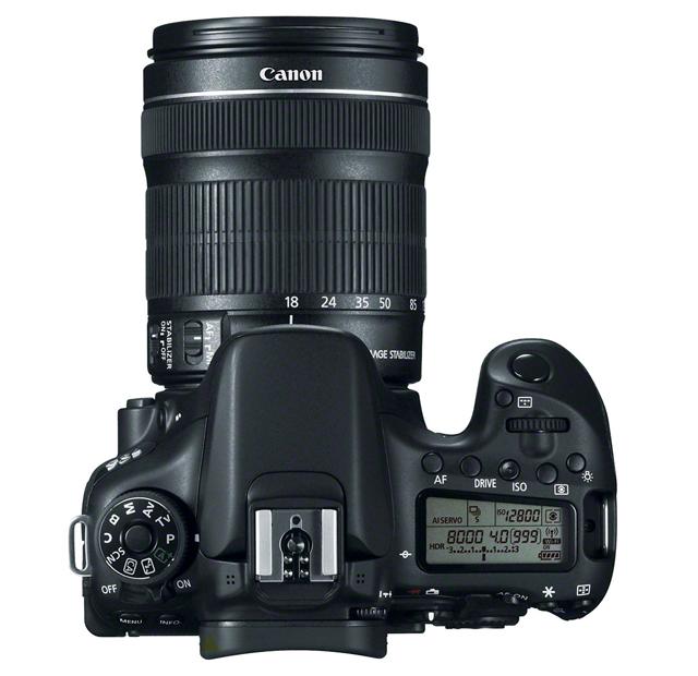 Fotografia della Canon EOS 70D
