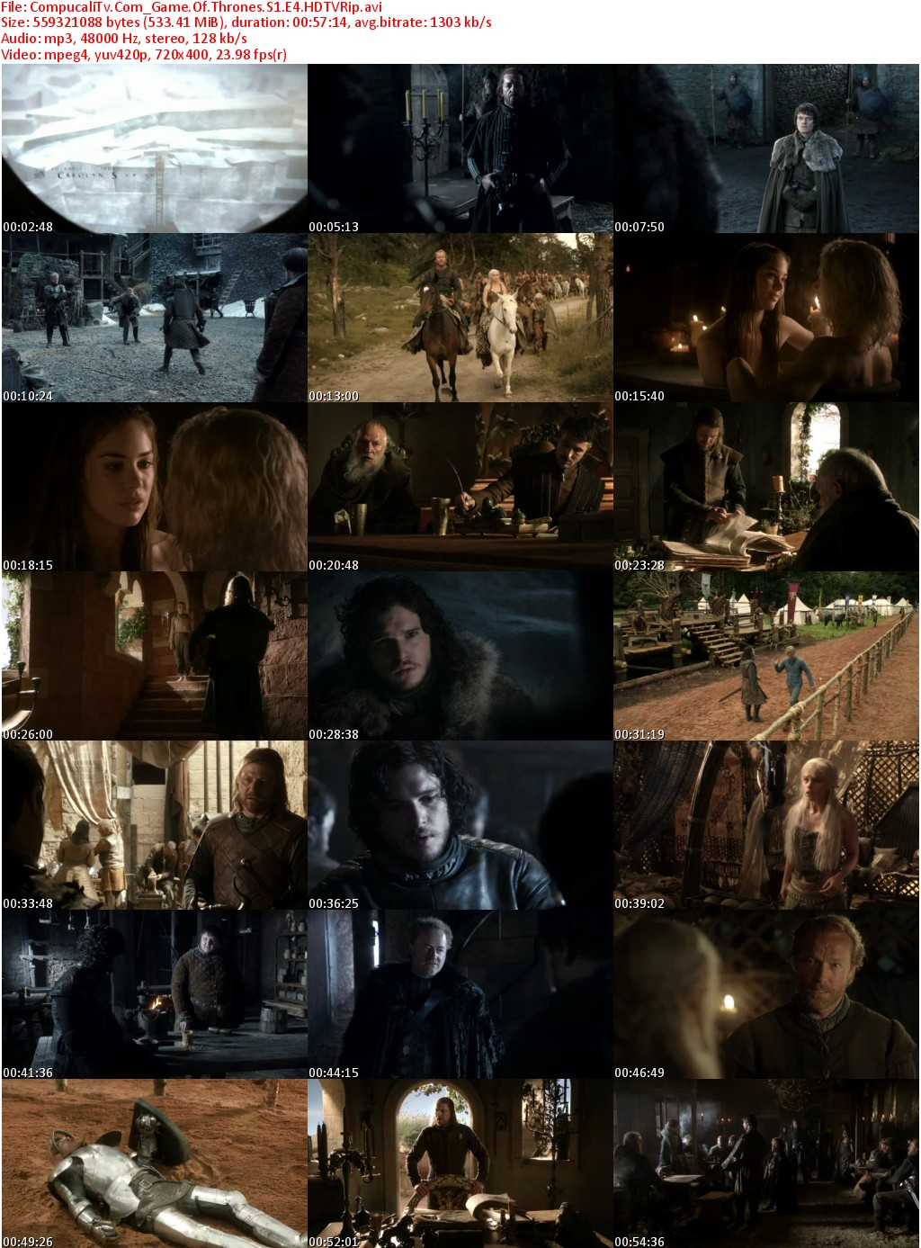 Capturas Game Of Thrones [Temporada 1]