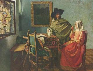 Vaso de vino - Jan Vermeer