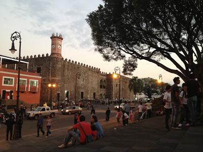 Palacio de Hernán Cortés en Cuernavaca.