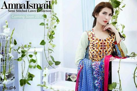 Amna Ismail collection 2015 with prices