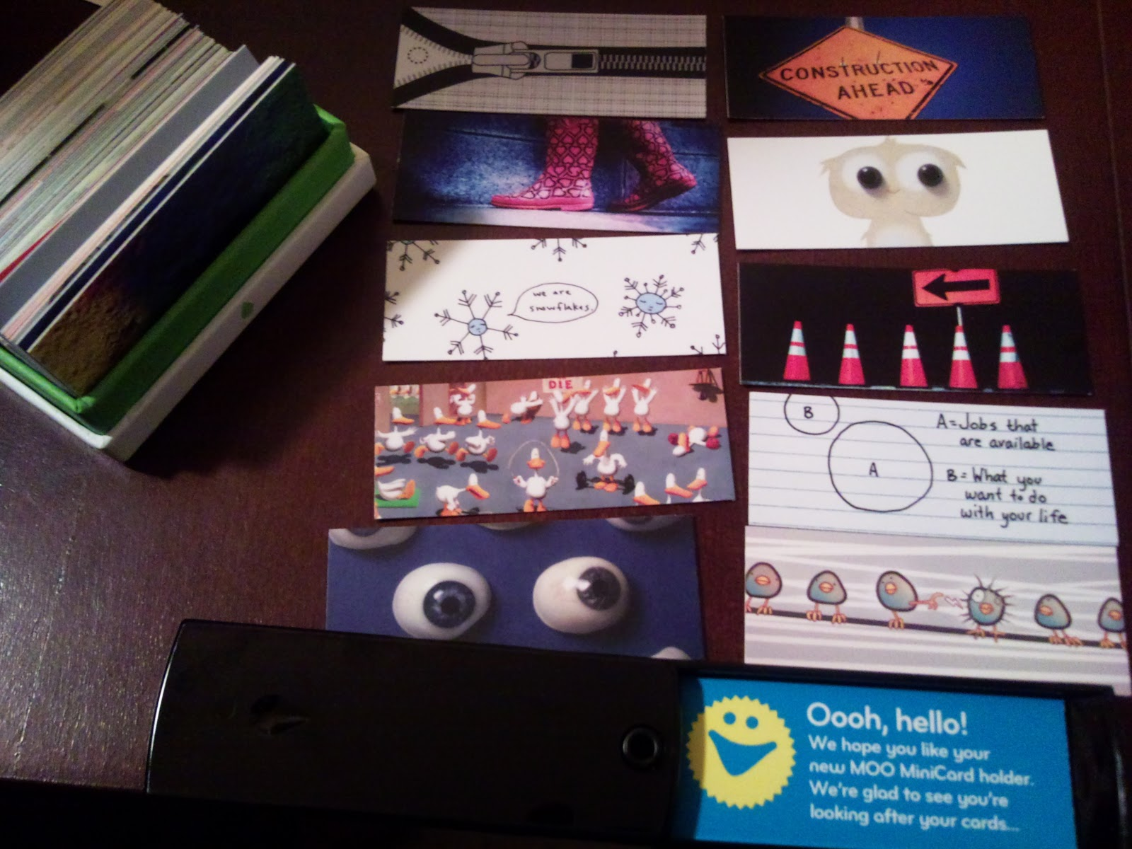 another testing blog cool business cards