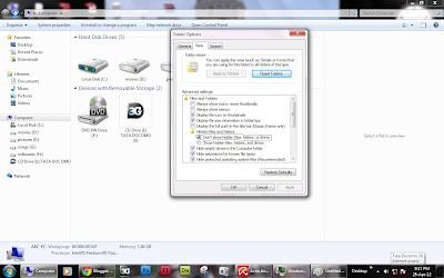 How To Hide a Folder in Window 7