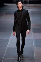 Planeta Fashion: Paris | Saint Laurent Menswear Inverno 2013