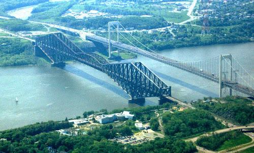 ponte cantilever com o maior vão livre do mundo